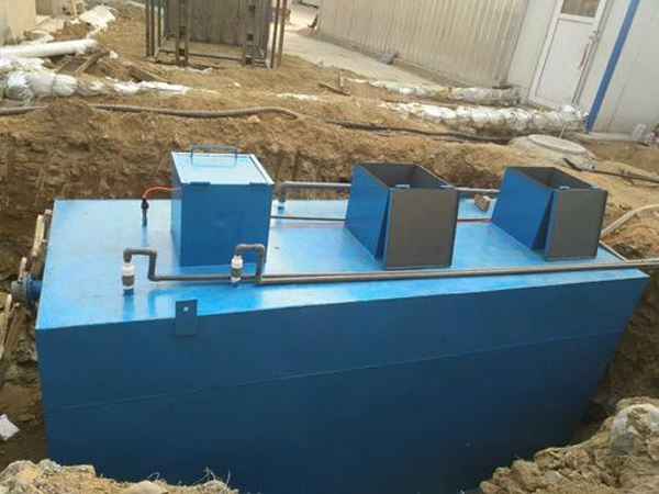 地埋式污水处理设备应用