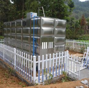 不锈钢保温水箱安装